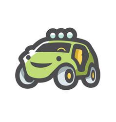 Buggy extreme car icon cartoon vector