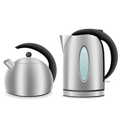 kettle 03 vector image