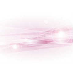 light pink smooth glowing stripes abstract vector image