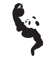 Panda lifting weight vector