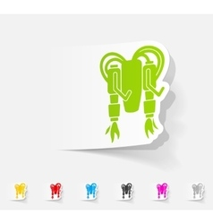 Realistic design element jetpack vector