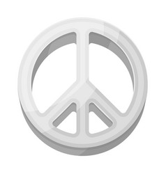 the icon of the worldhippy single icon in vector image