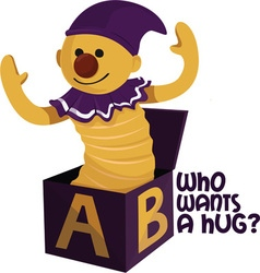 Want A Hug vector