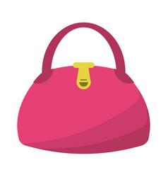woman handbag fashion style vector image