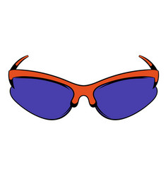 sunglass icon icon cartoon vector image