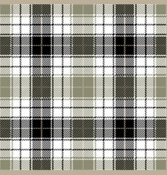 Black tartan plaid seamless pattern vector