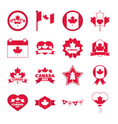 canada day independence freedom national vector image