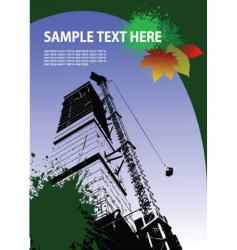grunge urban background vector image vector image