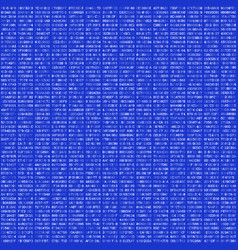 Hex code abstract seamless pattern vector