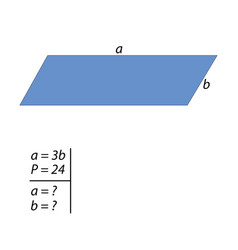 The challenge for finding the sides of the vector