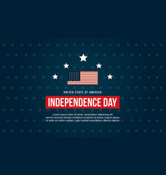 collection stock independence day banner style vector image