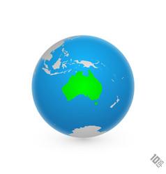 Continent australia vector