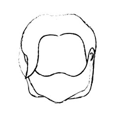 Figure default avatar man to social user vector