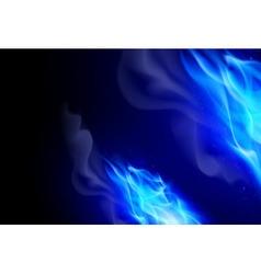 Fire flames effect vector