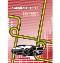 poster background vector image