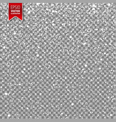 snow with snowflakes winter background vector image