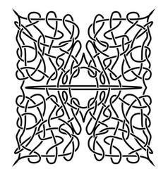 Traditional celtic ornament vector