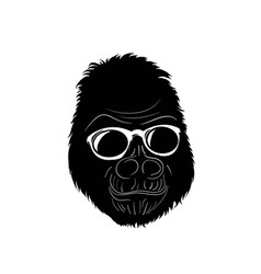 Gorilla wear glass vector