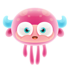 Jelly monster vector