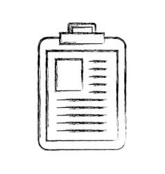 medical report cartoon vector image