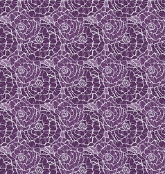 Seamless pattern with decorative roses vector image