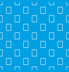 sketchbook pattern seamless blue vector image