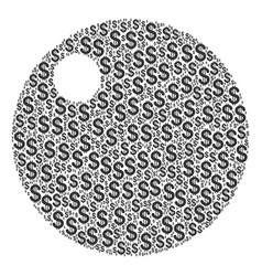 Sphere composition of dollar vector