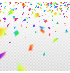 stock realistic defocused vector image