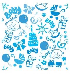 children texture boy vector image vector image