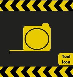 Tape measure icon vector image vector image