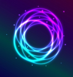 Abstract background with blue purple shading vector image