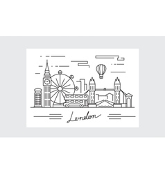 Black london icon vector