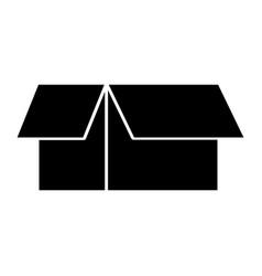 box carton isolated icon vector image