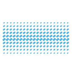 Free tag shape halftone array vector