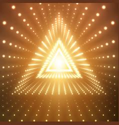 Infinite triangular tunnel vector