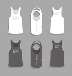 Mens t-shirt design template vector image