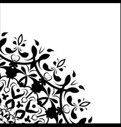 Printable package art element asian flower shape vector