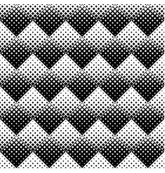 seamless geometrical black and white square vector image