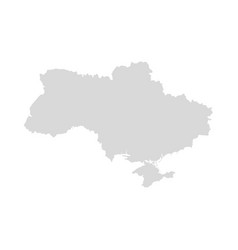 ukraine map design ukraine country region vector image