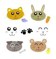 animal carton vector image