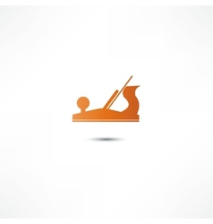 Jointer plane icon vector image vector image