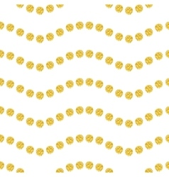Wavy seamles pattern vector image vector image