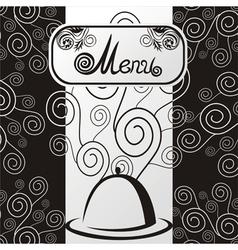 Cafe Menu Template vector image