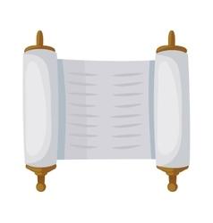 Sacred scroll vector image