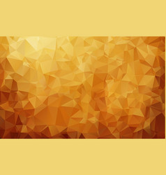 Abstract dark brown triangle mosaic background vector