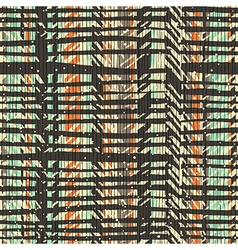 Abstract retro colors stripes pattern Seamless vector image