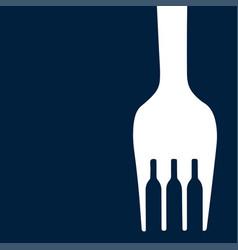 bottles in the fork vector image