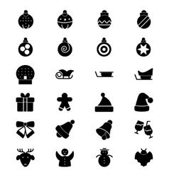 Christmas Icons 2 vector image