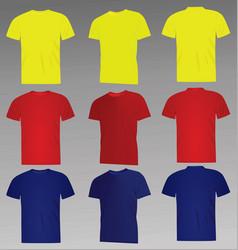 Classic t shirt vector