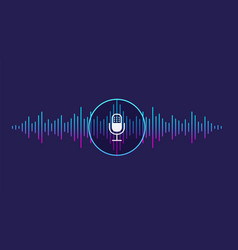 Concept of voice recognition vector